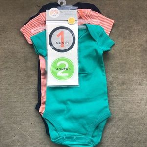 Carters just one you 1st year multi size bodysuit